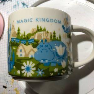 2017 Magic Kingdom Starbucks You Are Here mug